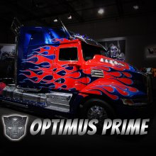 Optimus Prime Replica Transformer Truck